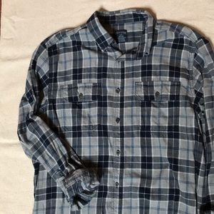 Flannel Plaid Button down